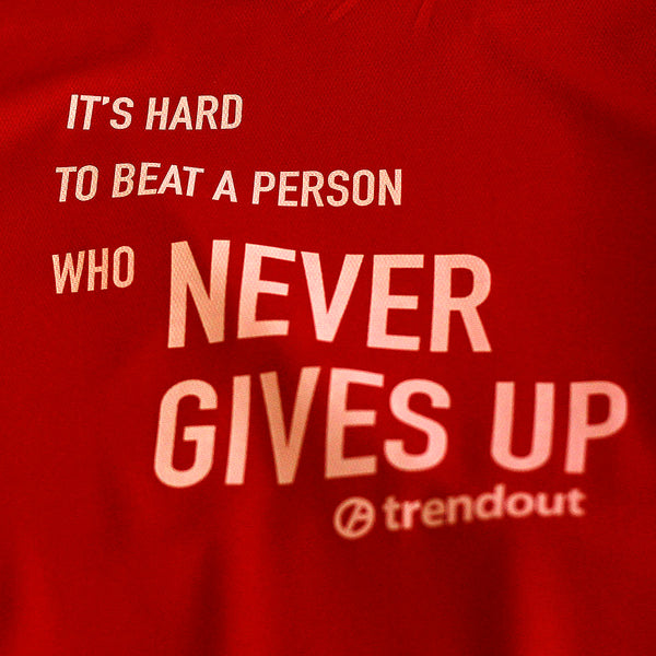T-shirt Trendout Teknik Hard to Beat