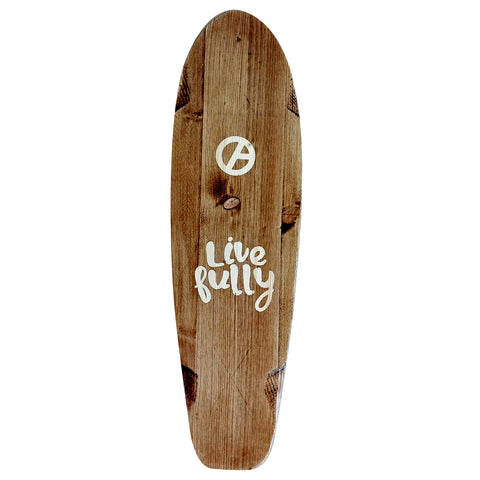 Skateboard Mini Cruiser Trendout Live Fully Wood Retro - Completo - Trendout.pt
