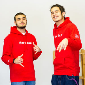 Hoodie Trendout RED/ACTION