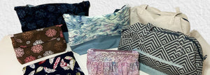 handmade bags, totes, and make-up bags