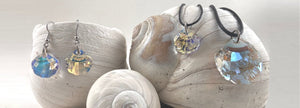 Handcrafted Swarovsky crystal jewelry and ornaments