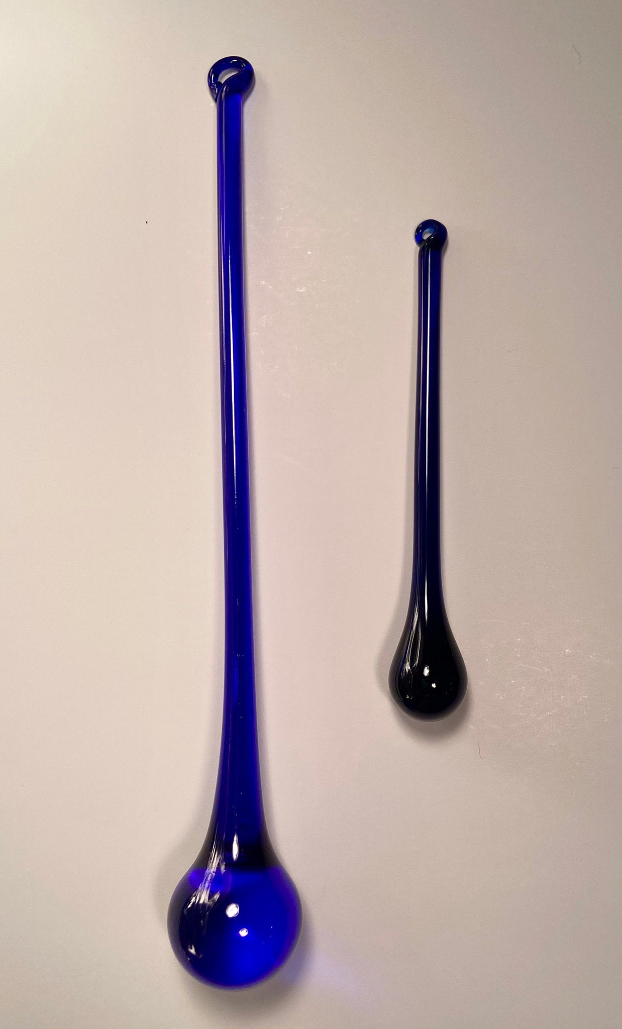 Blue Cobalt Glass Drop