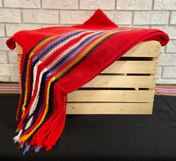Metis Inspired Shawl Blanket