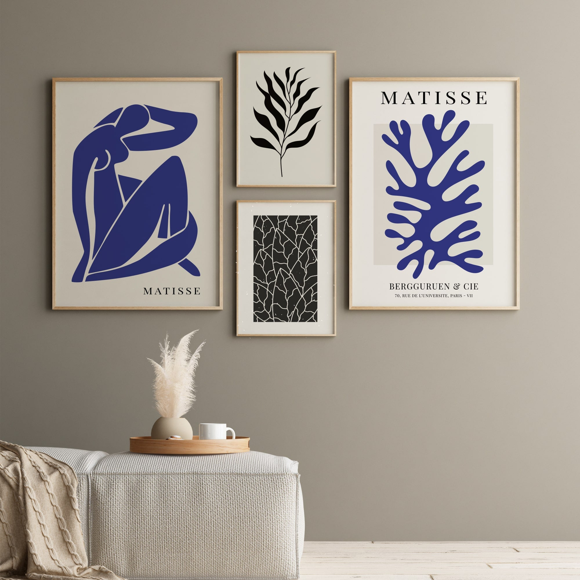 Matisse Blue Gallery