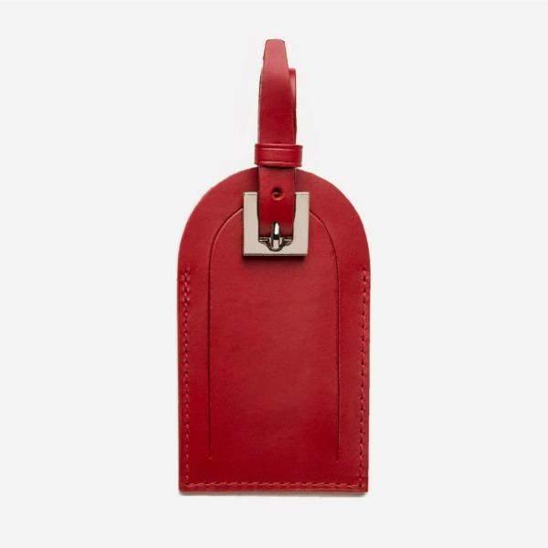 Luggage Tag - Red (Personalisation)