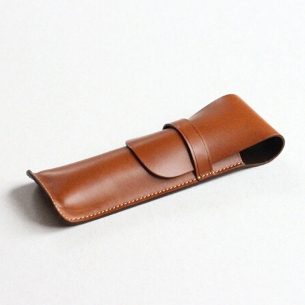 ARCH Double Pen Case - onlybrown