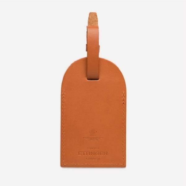Luggage Tag - Tan (Personalisation)