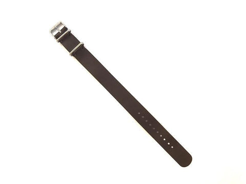 Bridle Leather Passthrough Strap (18mm)