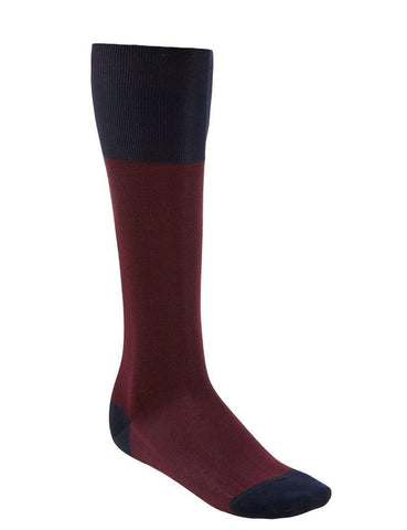 OTC Cotton Socks - Red Birdseye