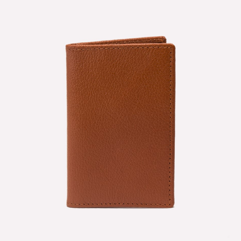 Capra Slim Card Case (Tan)