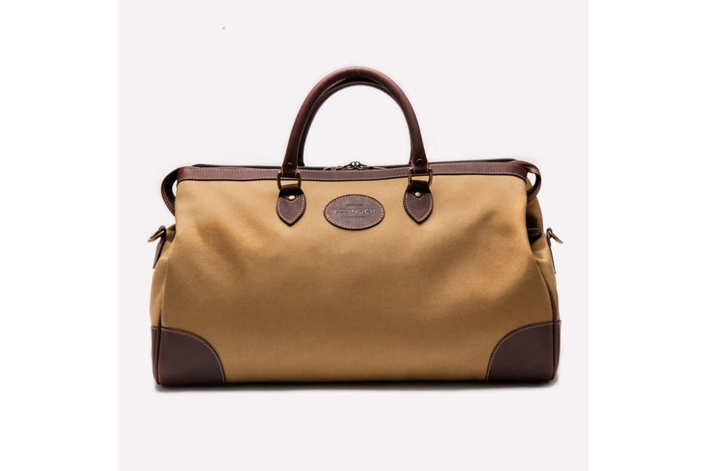 Hurlingham Overnight Bag - Sand (Personalisation)