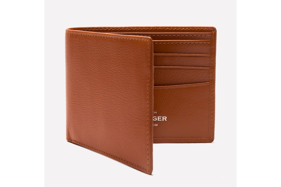 Capra Billfold Wallet - Tan
