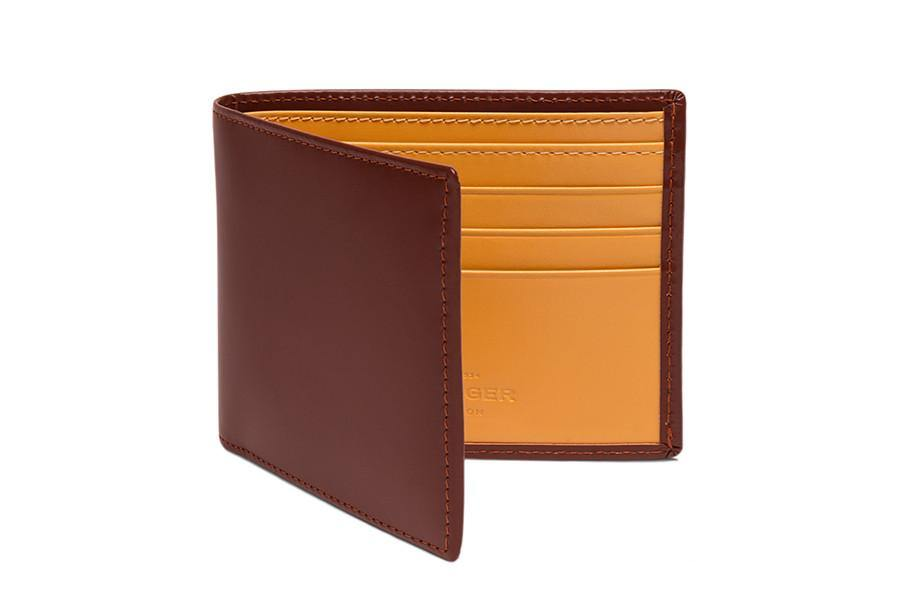Bridle Hide Billfold - Havana (Personalisation)
