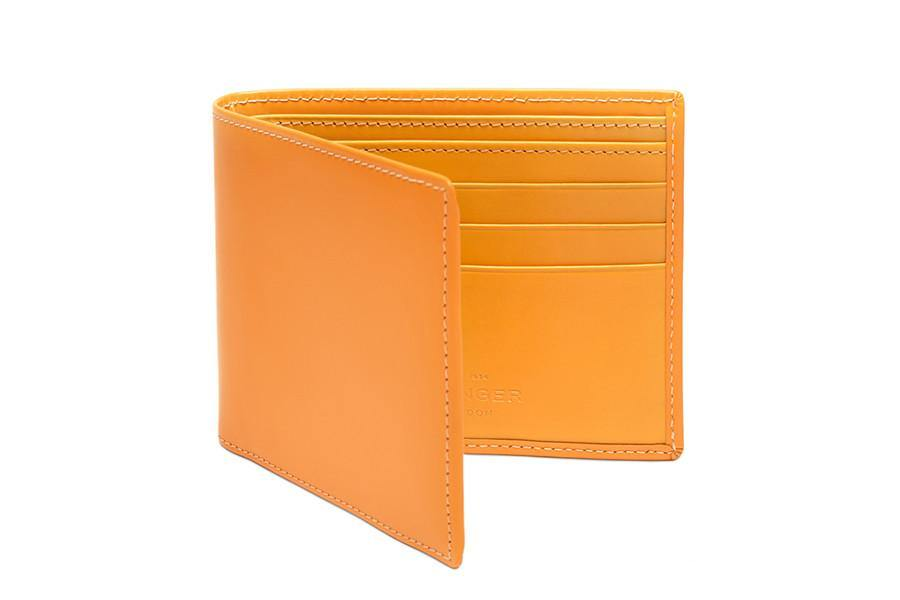 Bridle Hide Billfold - London Tan (Personalisation)