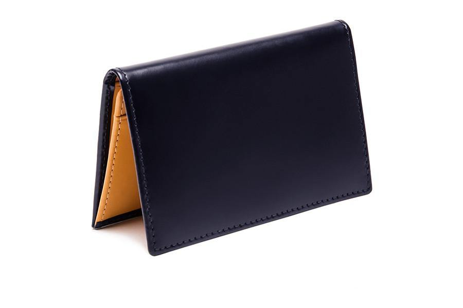 Bridle Visiting Card Case - Black (Personalisation)