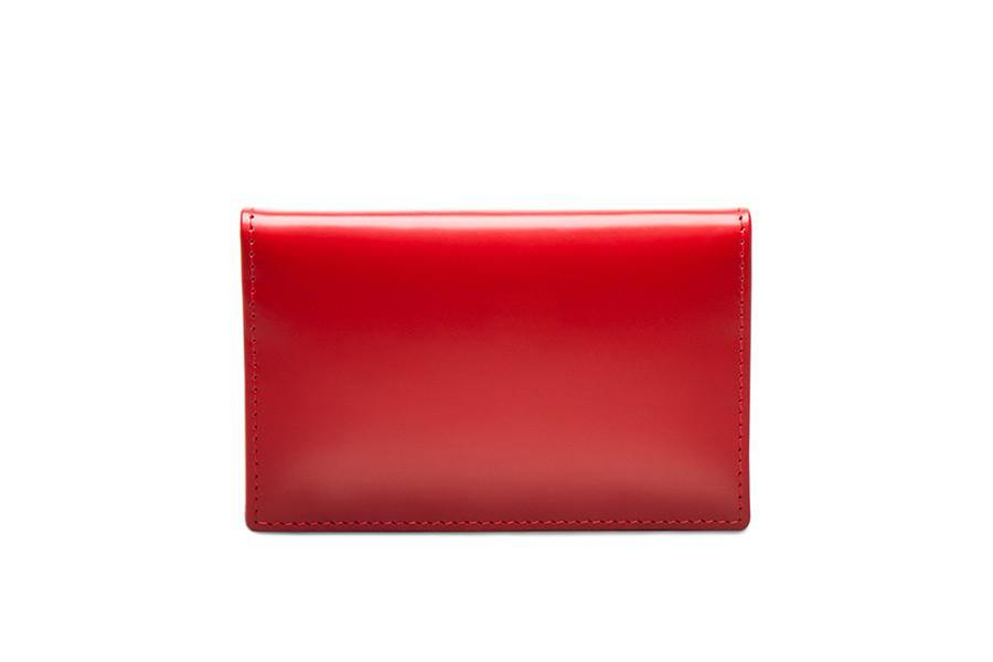 Bridle Visiting Card Case - Red
