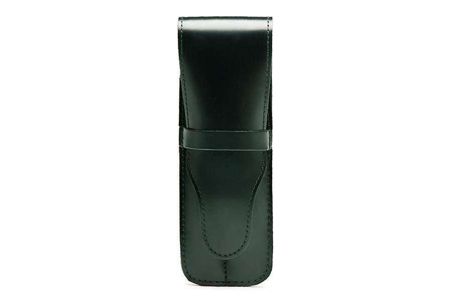 Double Pen Case - Green (Personalisation)
