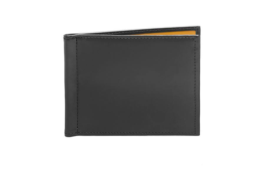 Bridle Money Clip Wallet - Ettinger Grey (Personalisation)