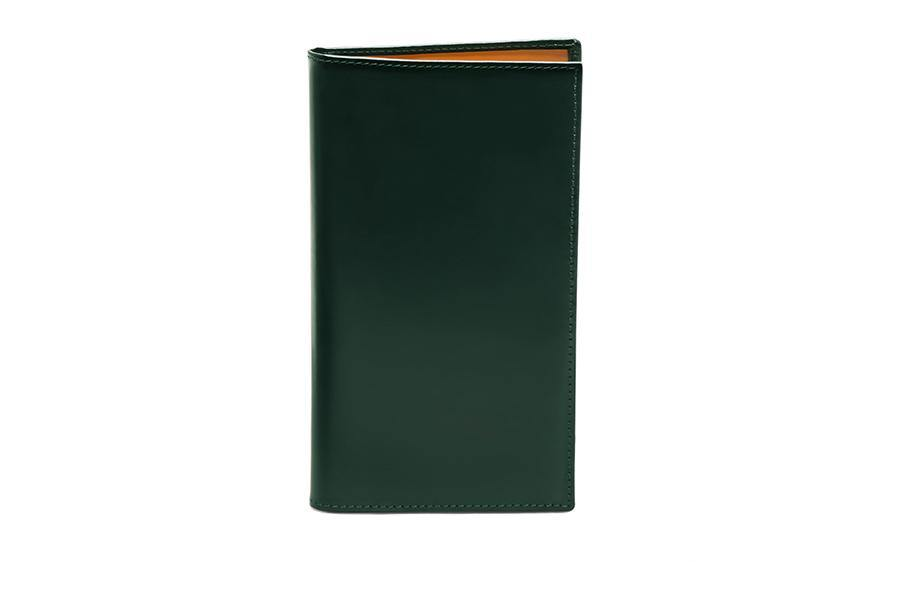 Bridle Hide Coat Wallet - Green
