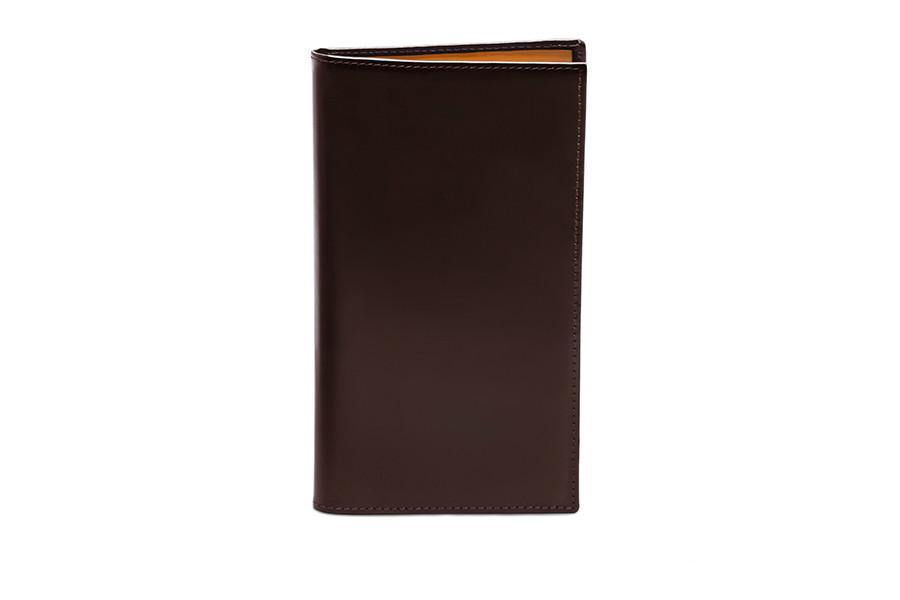 Bridle Hide Coat Wallet - Nut (Personalisation)