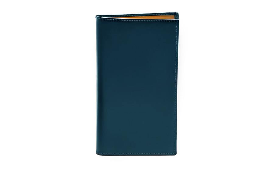 Bridle Coat Wallet - Petrol Blue - onlybrown