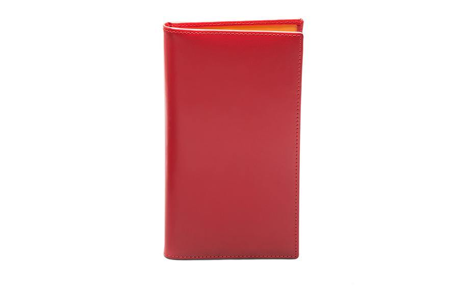 Bridle Coat Wallet - Red