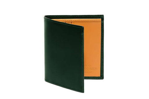 Bridle Mini Wallet - Green (Personalisation)