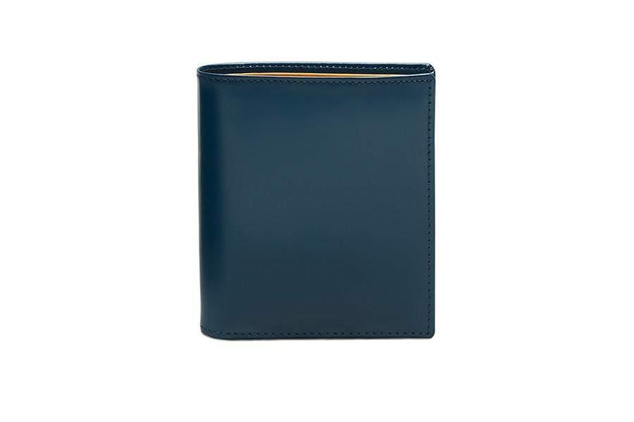 Bridle Mini Wallet - Petrol Blue