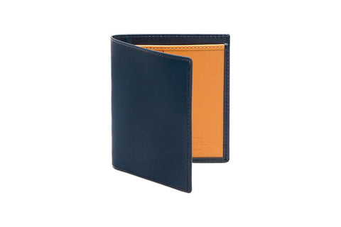 Bridle Mini Wallet - Petrol Blue (Personalisation)