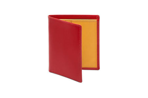 Bridle Mini Wallet - Red (Personalisation)