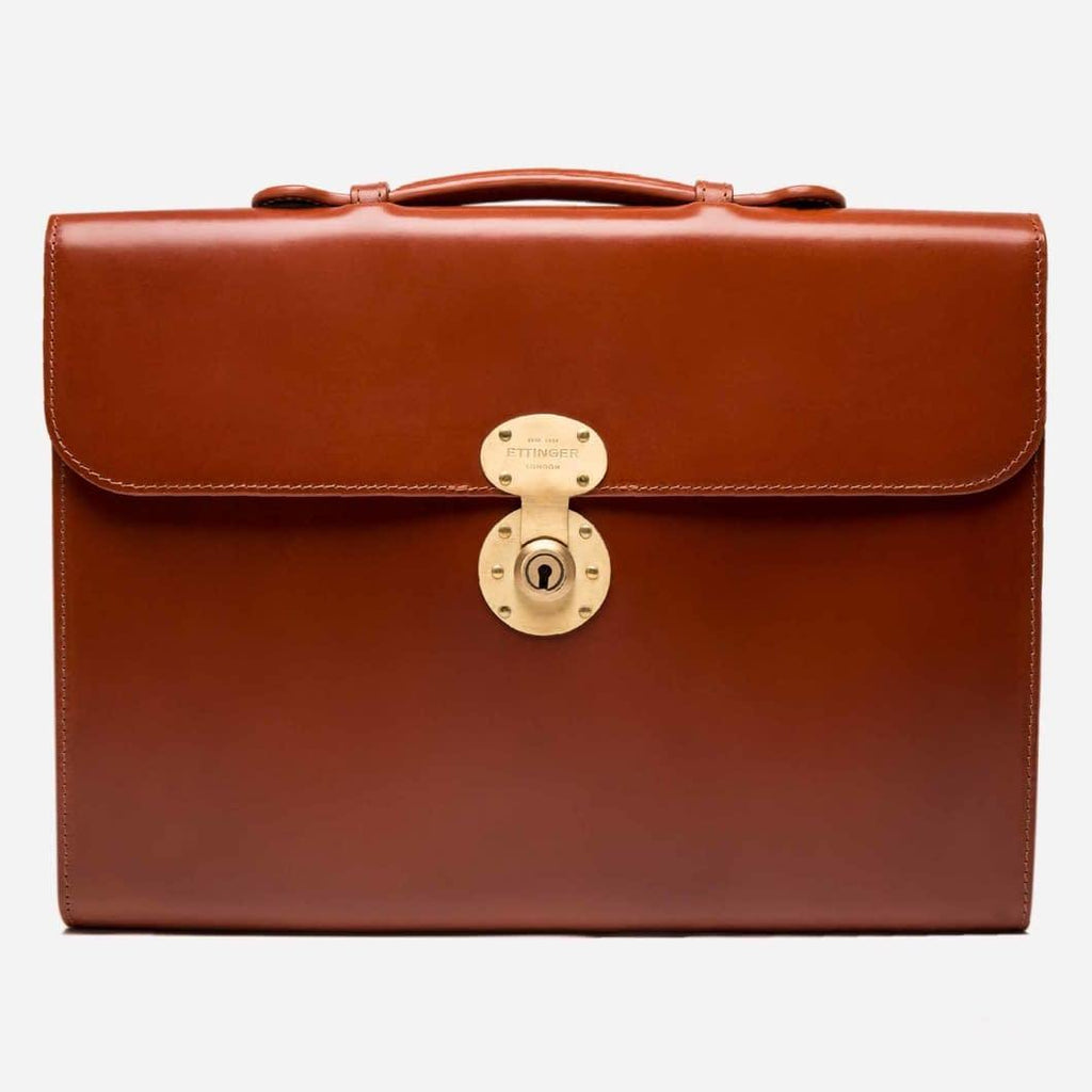 Burlington Briefcase - Hazelnut