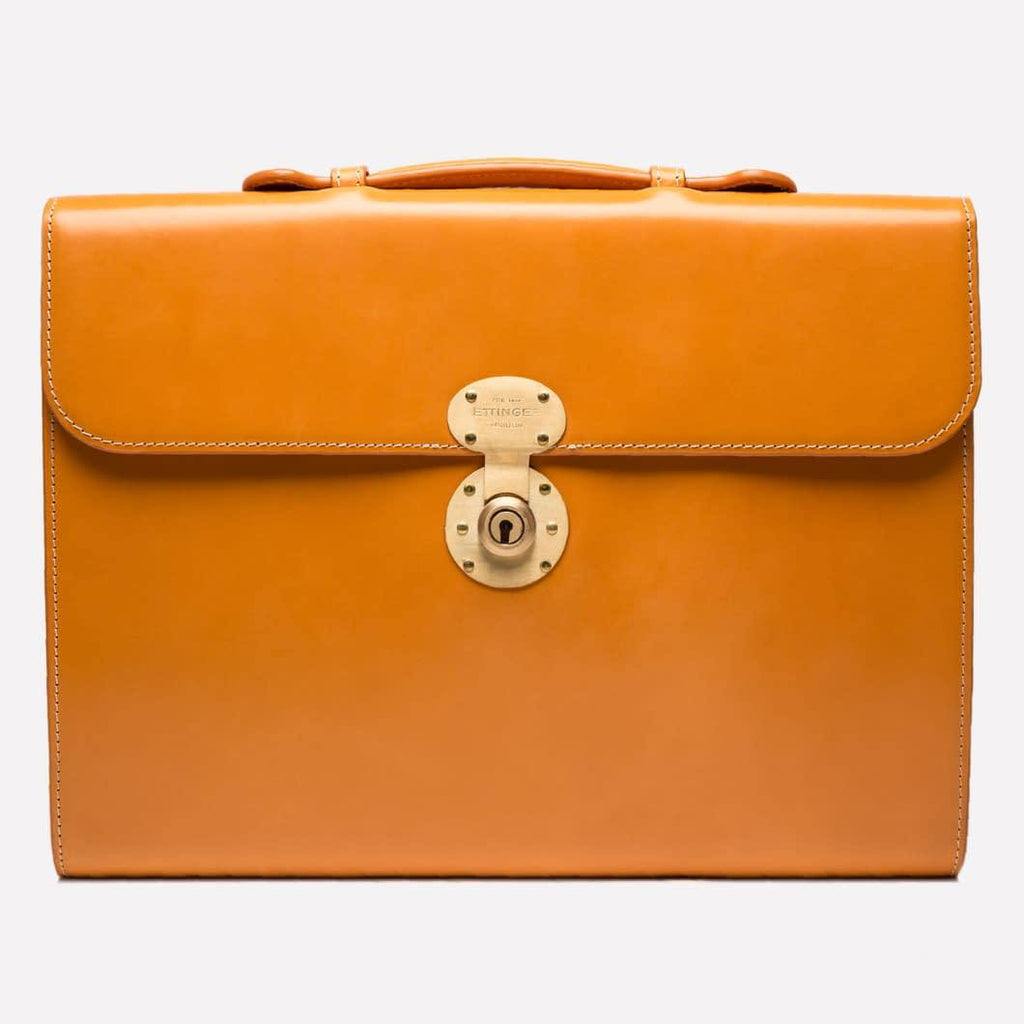 Burlington Briefcase - London Tan