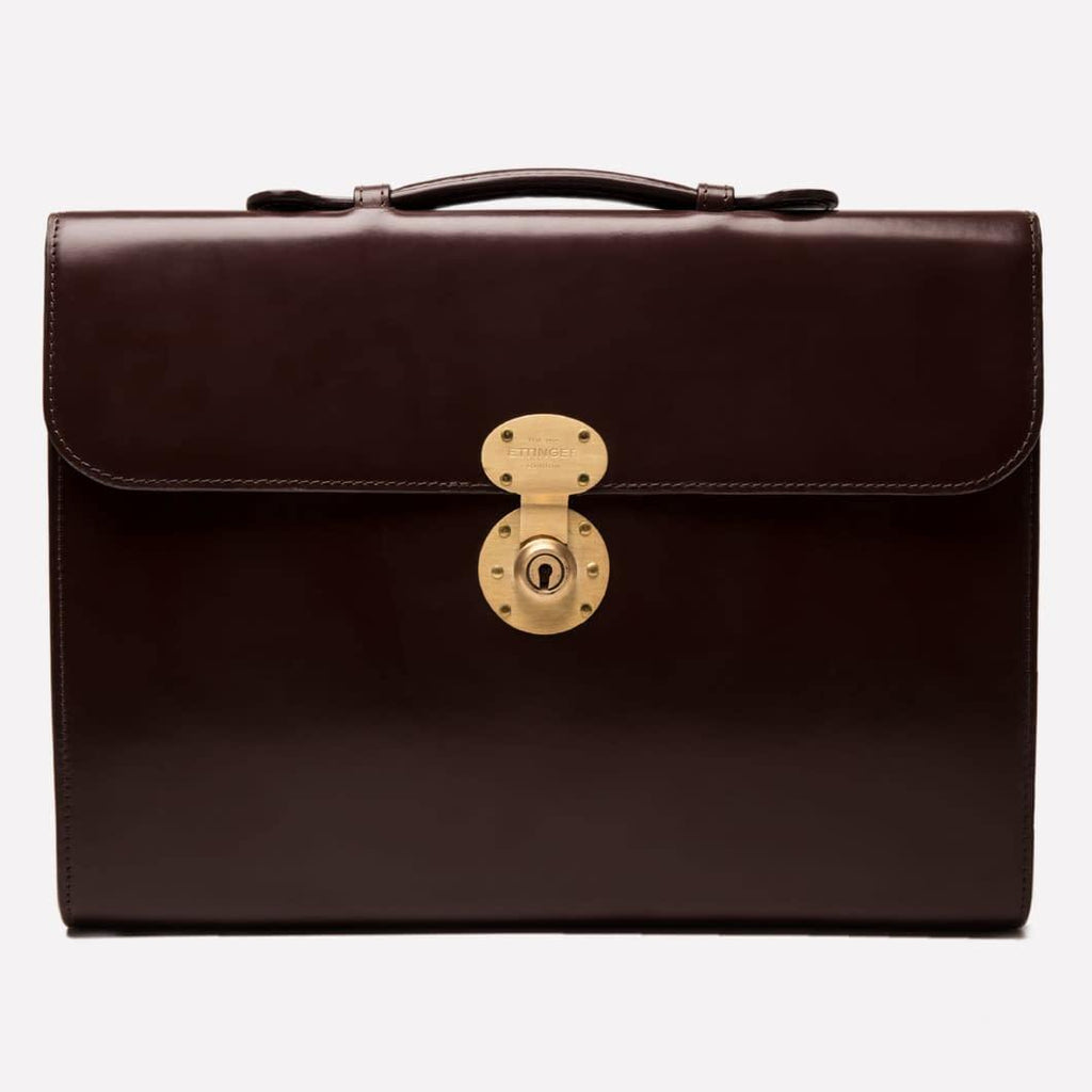 Burlington Briefcase - Nut