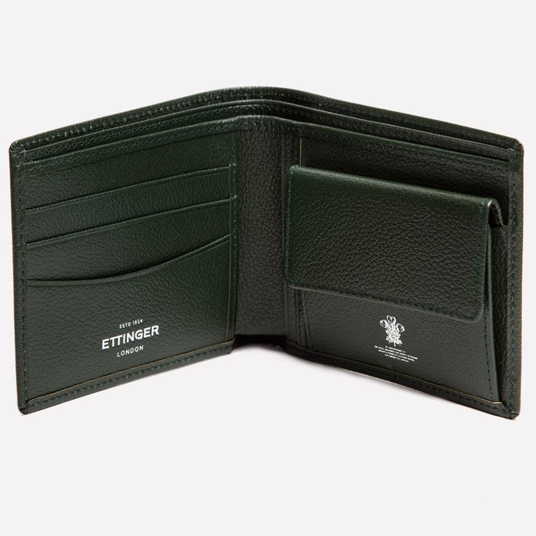 Capra Billfold Wallet w Coin pocket