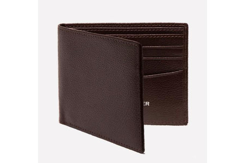 Capra Billfold Wallet - Chocolate