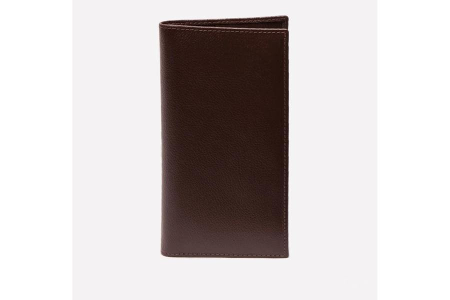Capra Coat Wallet - Chocolate
