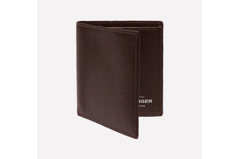 Capra Mini Wallet - Chocolate