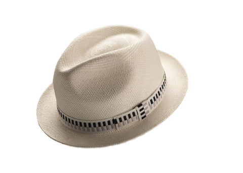 White Carnaby Snap Brim