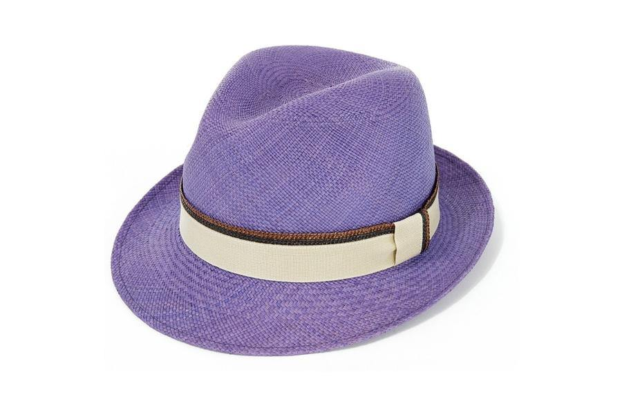 Hoxton Trilby Panama - onlybrown
