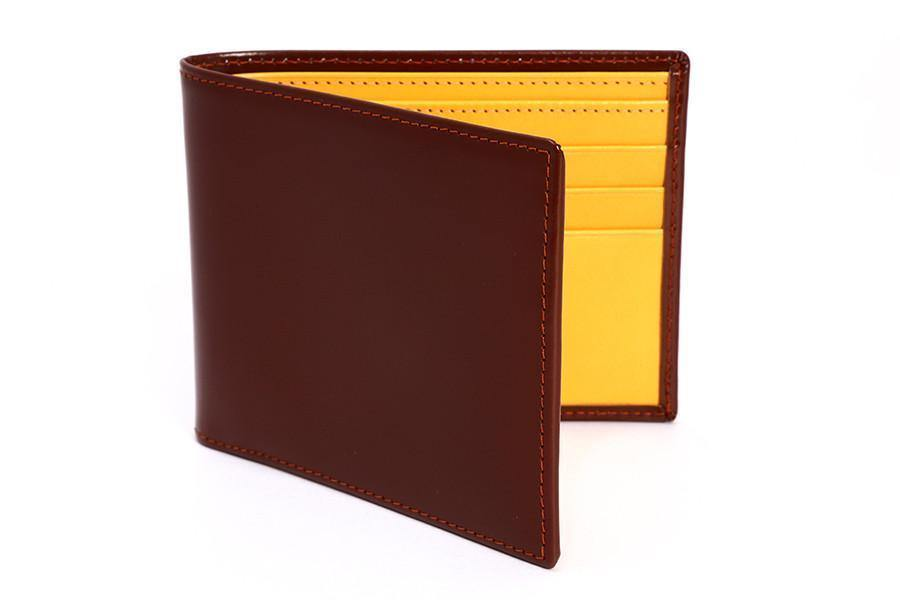 Bridle Hide Havana Billfold - onlybrown