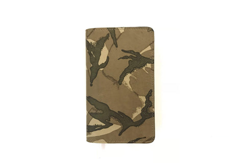 Leather Notebook - Camo