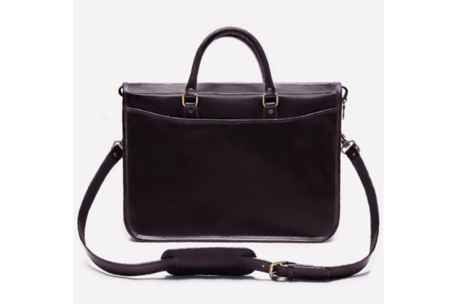 Mayfair Briefcase - Dark Havana