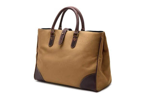 Piccadilly Canvas Tote - Sand
