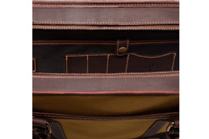 Putney Canvas Briefcase - Sand