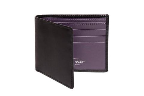 Sterling Purple Billfold (Personalisation)