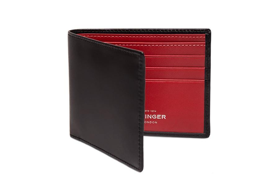 Sterling Red Billfold (Personalisation) - onlybrown