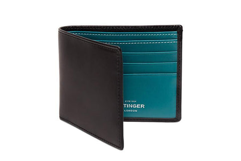 Sterling Turquoise Billfold (Personalisation)