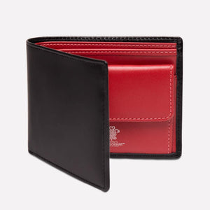 Sterling Red Billfold with Coin Pkt (Personalisation) - onlybrown