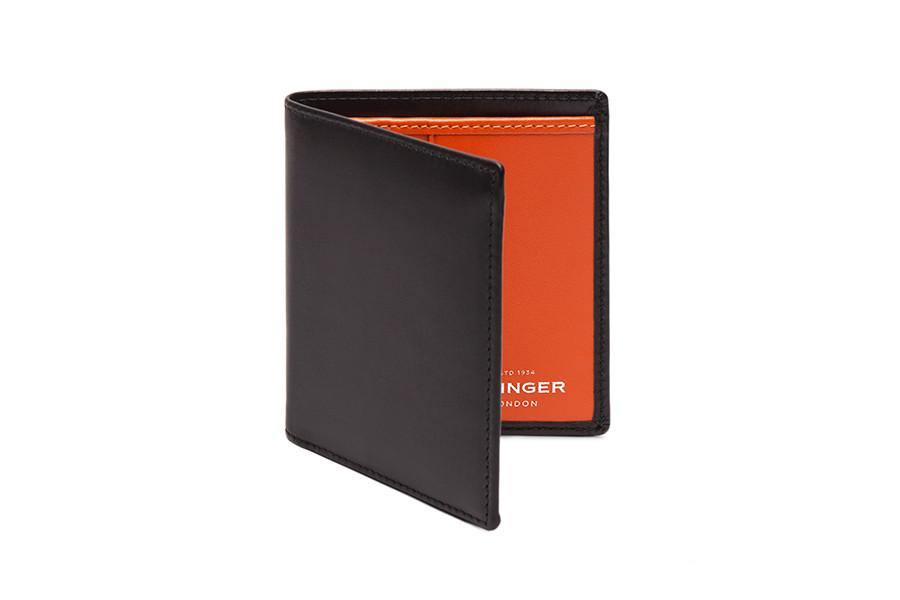 Sterling Orange Mini Wallet (Personalisation)