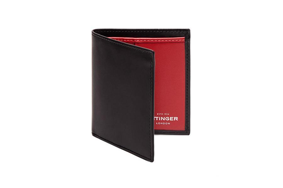Sterling Red Mini Wallet (Personalisation) - onlybrown
